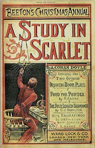 "Cover of ""A Study in Scarlet"""